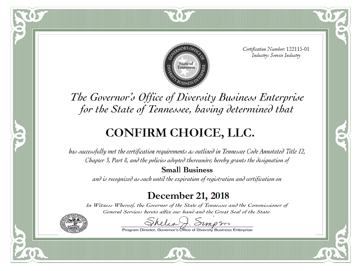 Small business certification 1betcityfo Image collections